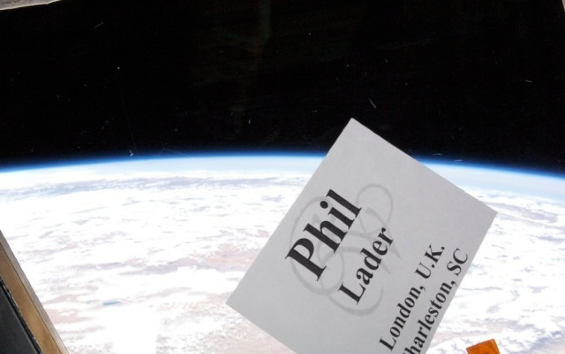 Nametag in Space