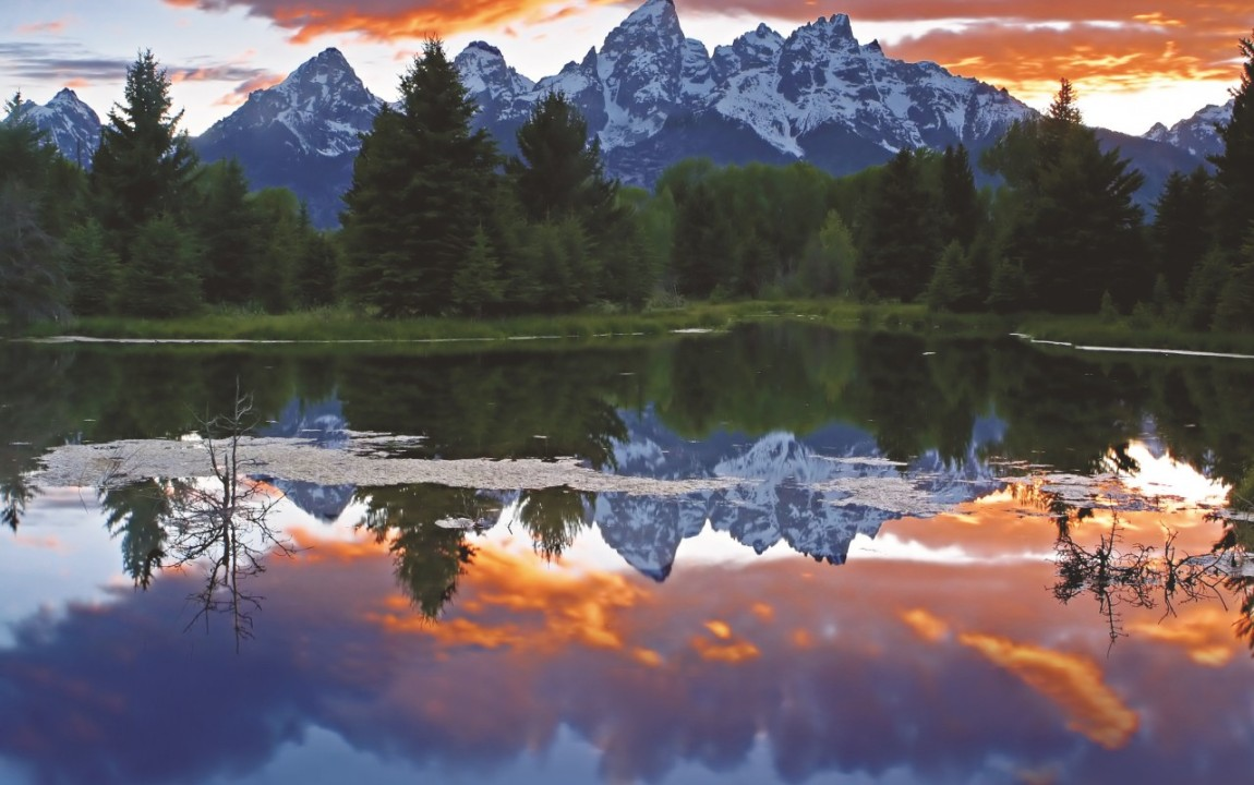 Grand Teton Sunset